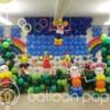 高尾中学校 第1学年の皆さんの文化祭バルーンアート作品
