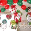 クリスマスの簡単飾り付けをバルーンで
