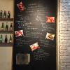 壁の一部をでっかい黒板POPとして使うナイスアイデア